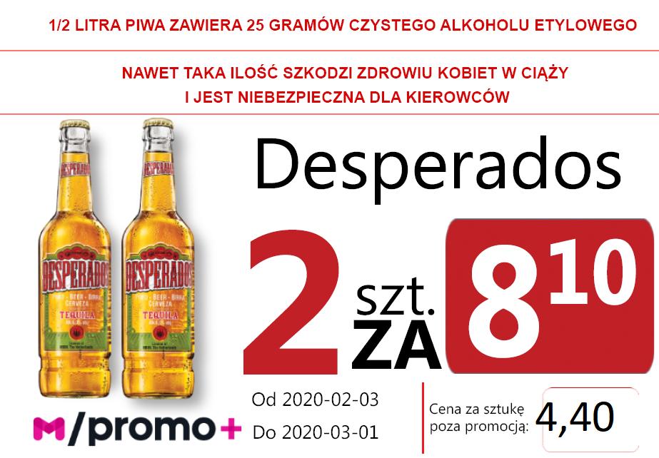 Desperados Orginal But 2 za 8,10 zł