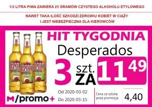 HIT Tygodnia Desperados Orginal But 3 za 11,49 zł