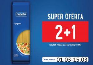 Lubella Spaghetti 500g 2+1