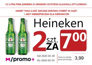 Heineken Original But 2 za 7,00 zł