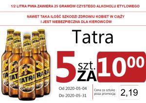 Tatra Jasne Pełne But 5 za 10,00 zł